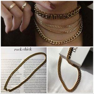 Vintage Dior Chain Choker